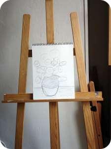 sketch-chevalet