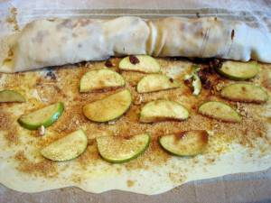 Vegan Apple Strudle