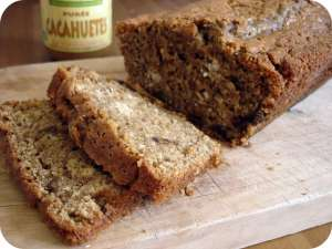 Whole Wheat Peanut Butter Quick Bread